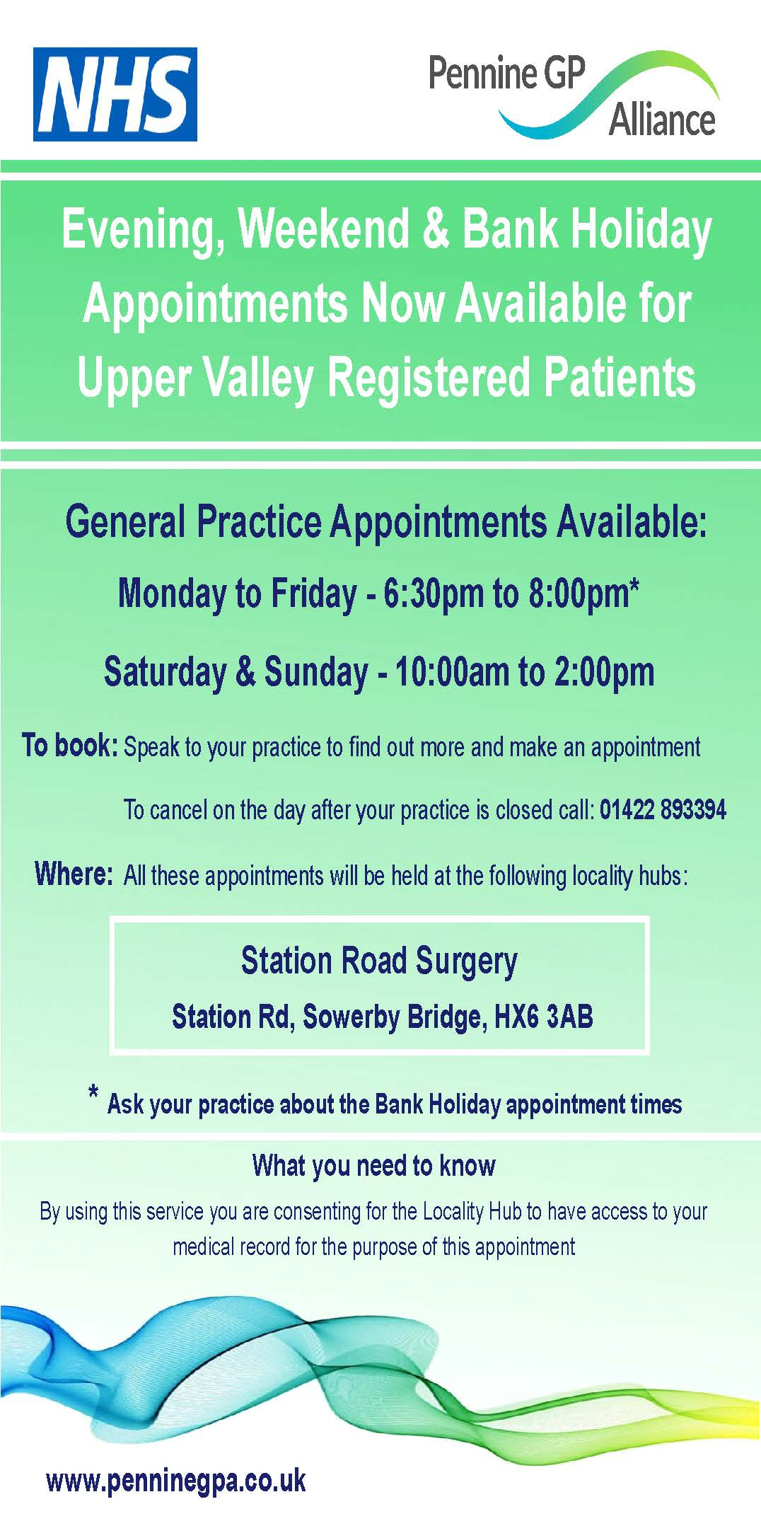 Improved Access for Upper Valley Registered Practices